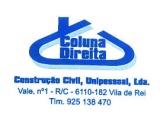 Coluna Direita Construção Civil, Unipessoal, Lda.